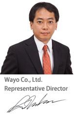 Wayo Co.,Ltd. Representative Director